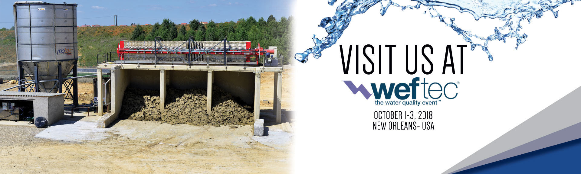 WEFTEC 2018, 1-3 October New Orleans USA